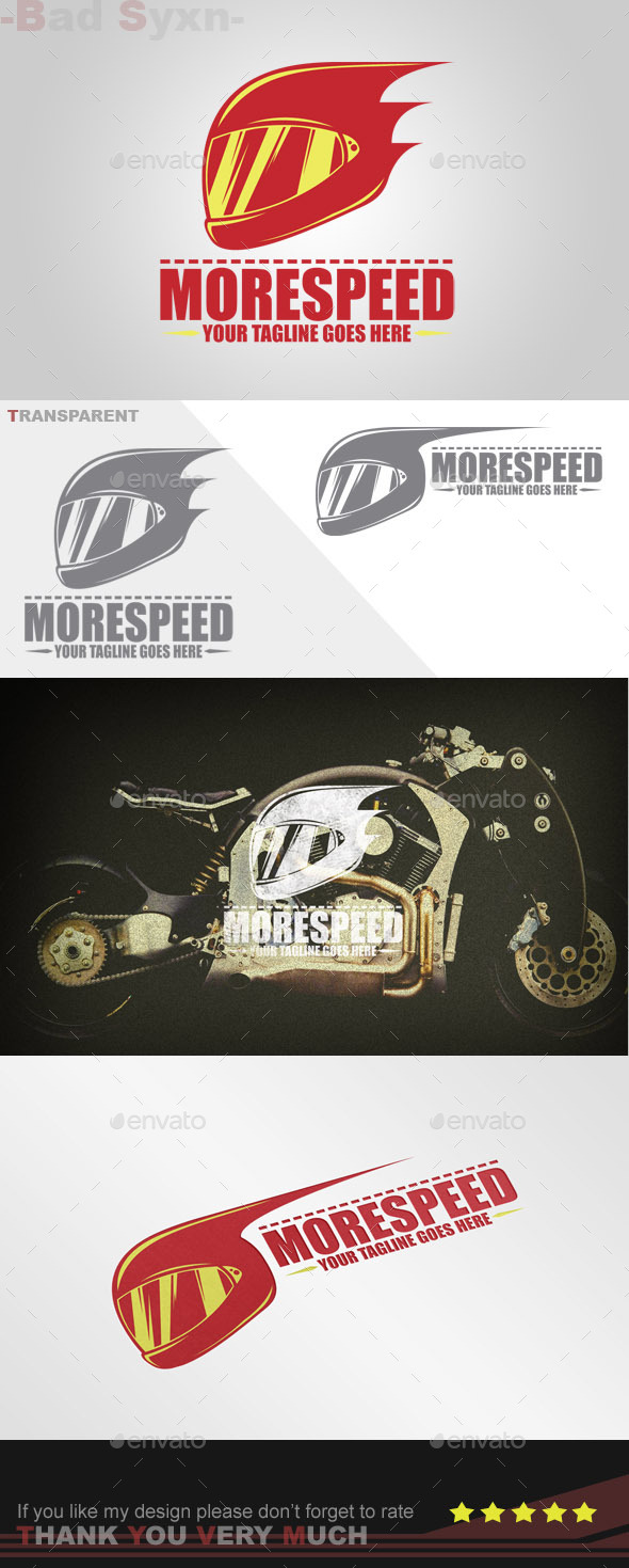 GraphicRiver Morespeed Logo Template 9013352