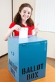 Pretty Teen Voting - PhotoDune Item for Sale