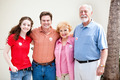 Election Day - Family Votes - PhotoDune Item for Sale
