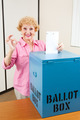 Senior Woman Voting AOkay - PhotoDune Item for Sale