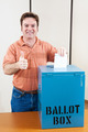 White Male Voter - PhotoDune Item for Sale