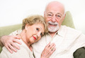 Loving Senior Couple at Home - PhotoDune Item for Sale