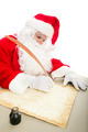 Santa Writing List on Parchment - PhotoDune Item for Sale