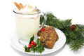 Eggnog with Fruitcake - PhotoDune Item for Sale
