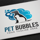 Pet Bubbles Logo - GraphicRiver Item for Sale