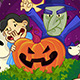 Great Pumpkin Halloween Card Illustration - GraphicRiver Item for Sale