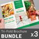 Restaurant Tri-Fold Brochure Bundle | Volume 4 - GraphicRiver Item for Sale