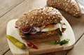 Bacon and fried eggs sandwich - PhotoDune Item for Sale