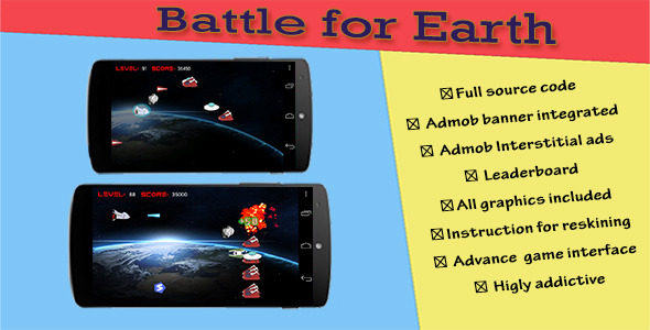 CodeCanyon Battle for Earth 9017023