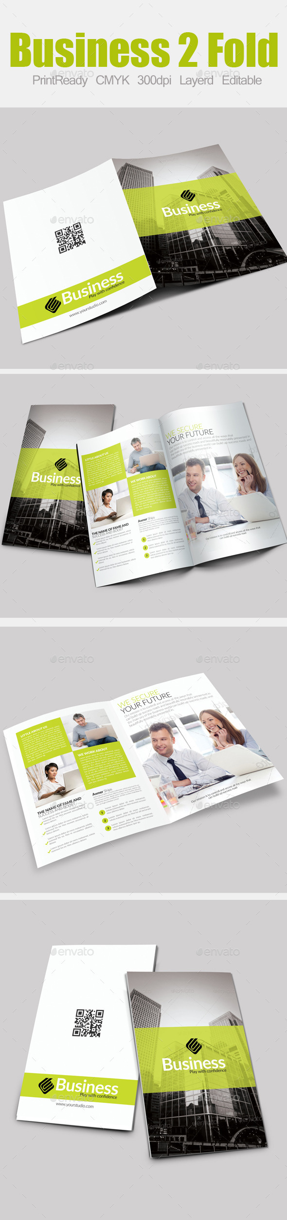 GraphicRiver Bi Fold Business Brochure 9017234