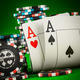 chips and two aces - PhotoDune Item for Sale