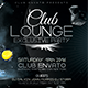 Club Lounge Flyer