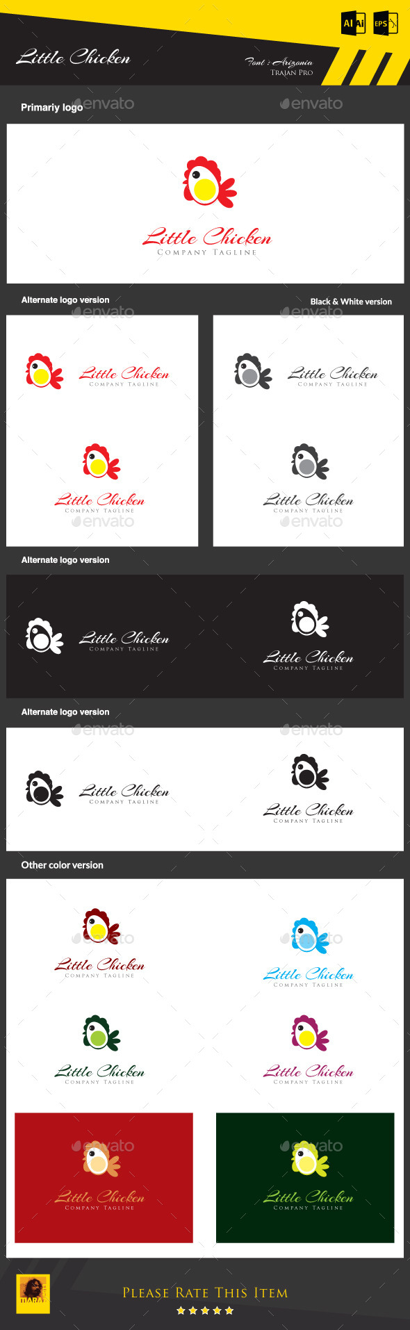 GraphicRiver Little Chicken 8915822