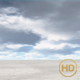 Empty Desert with Clouded Sky - HD loop - VideoHive Item for Sale