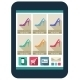 Online Shop on the Tablet Screen - GraphicRiver Item for Sale