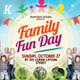 Alternative Family Fun Day Flyers - GraphicRiver Item for Sale