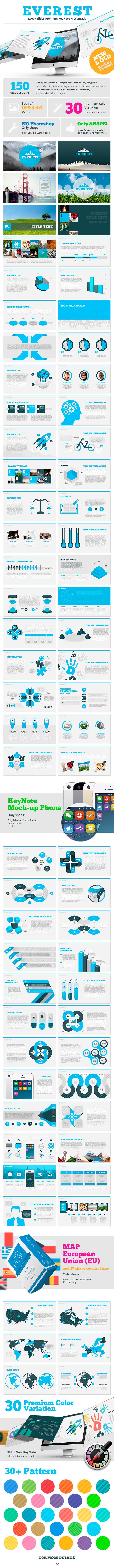 GraphicRiver Everest KeyNote 8950885