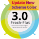 Fresh-Flat 3.0 - GraphicRiver Item for Sale