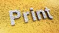 Pixelated Print - PhotoDune Item for Sale