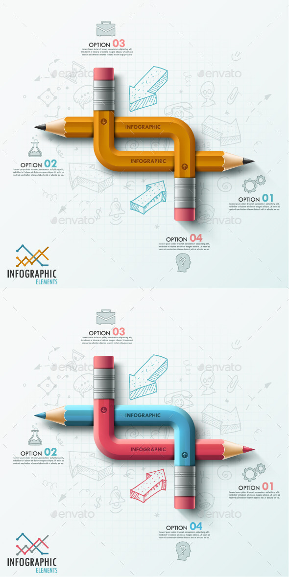 GraphicRiver Modern Infographic Options Template 2 Items 9018789