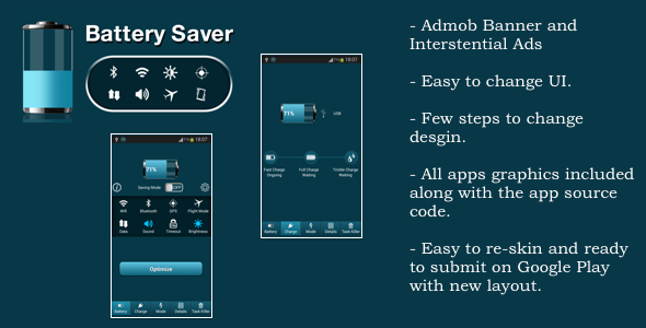 CodeCanyon Battery Saver HD 9018903