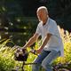 Senior Man Riding Bicycle - PhotoDune Item for Sale