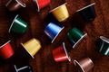 Colorful variety of coffee capsules - PhotoDune Item for Sale