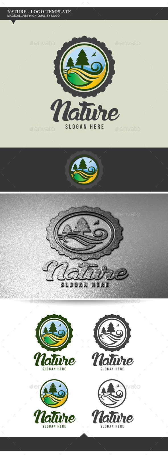GraphicRiver Nature Logo Template 9003658