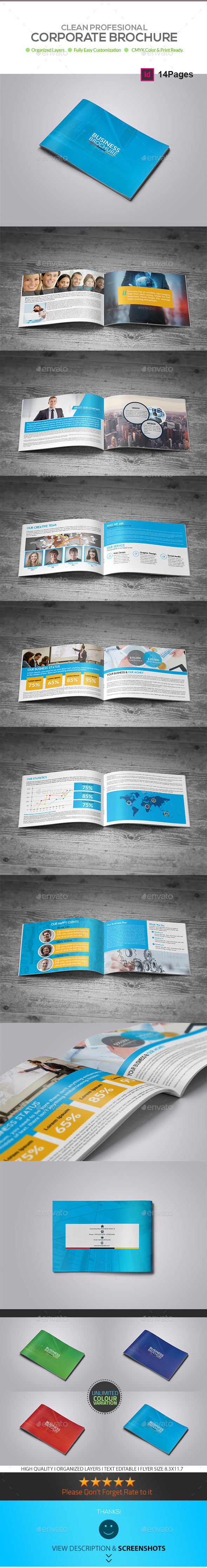GraphicRiver Business Brochure Template 14 Pages 9020516