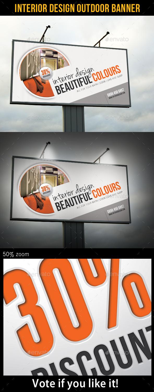 GraphicRiver Interior Design Outdoor Banner 9020900