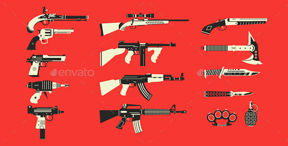 GraphicRiver Choose Your Weapon 9020905