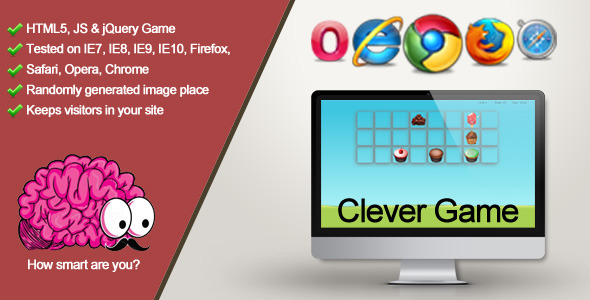 CodeCanyon Clever Game How smart are you 9020918