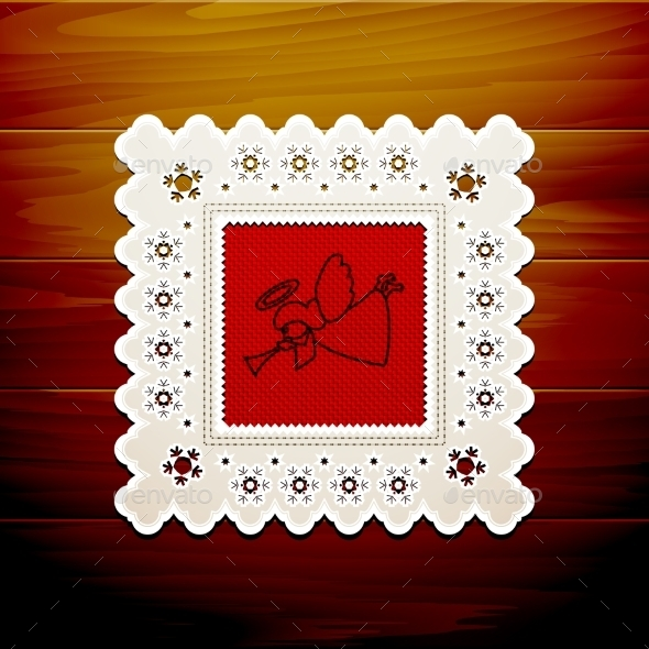 GraphicRiver Christmas Napkin Table 9021210