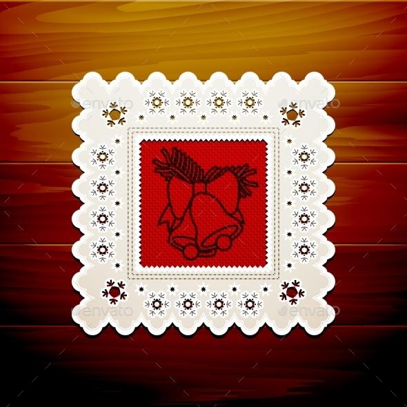 GraphicRiver Christmas Napkin Table 9021315
