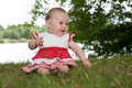 Happy baby in anture - PhotoDune Item for Sale