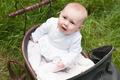 Baby is looking up in her pram - PhotoDune Item for Sale