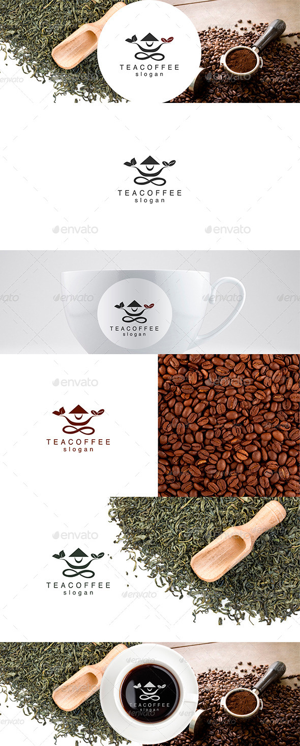 GraphicRiver Tea and Coffee Logo Template 9021478