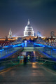 Millennium Bridge and St Pauls - PhotoDune Item for Sale