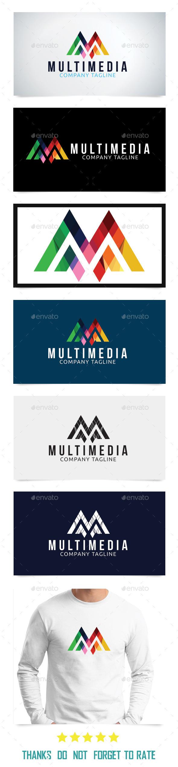 GraphicRiver Multimedia Logo Template 9021839