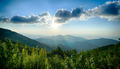 Sunrise over Blue Ridge Mountains Scenic Overlook - PhotoDune Item for Sale