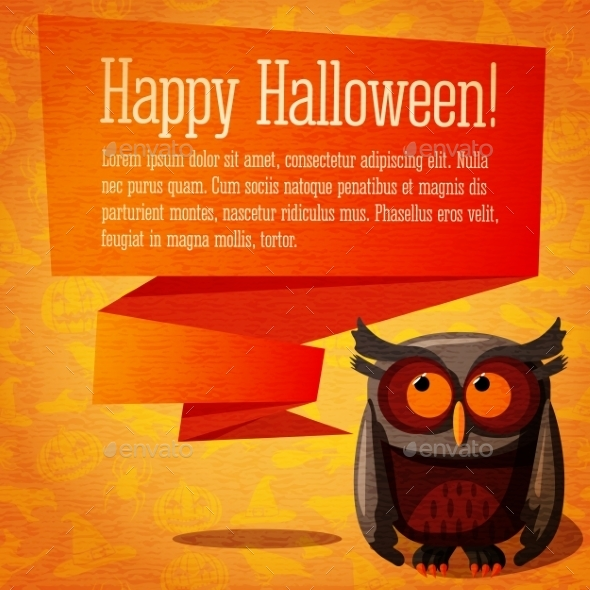 GraphicRiver Happy Halloween Banner or Greeting Card 9022580