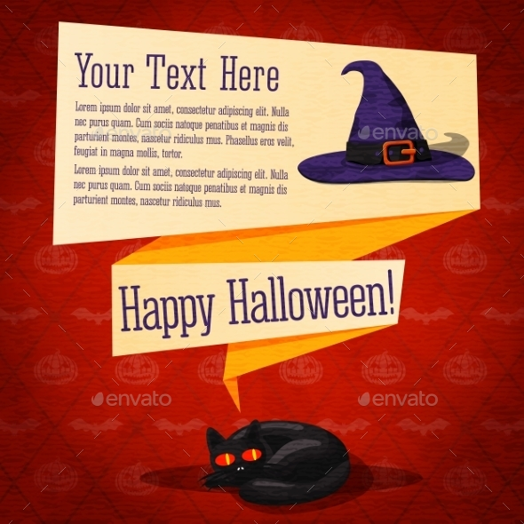 GraphicRiver Happy Halloween Banner or Greeting Card 9023354