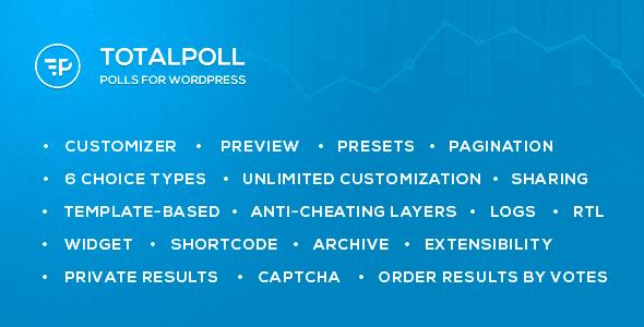 TotalPoll Pro WordPess Poll Plugin
