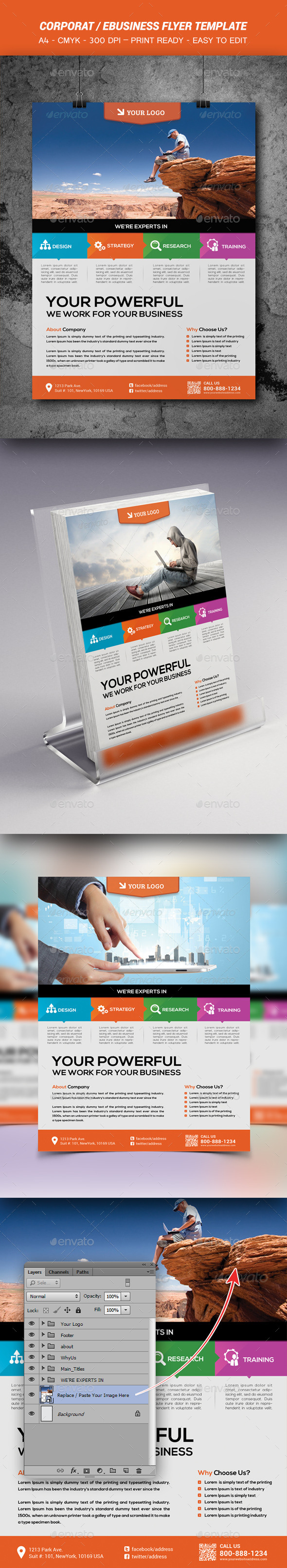 GraphicRiver Business Flyer Template 9023414