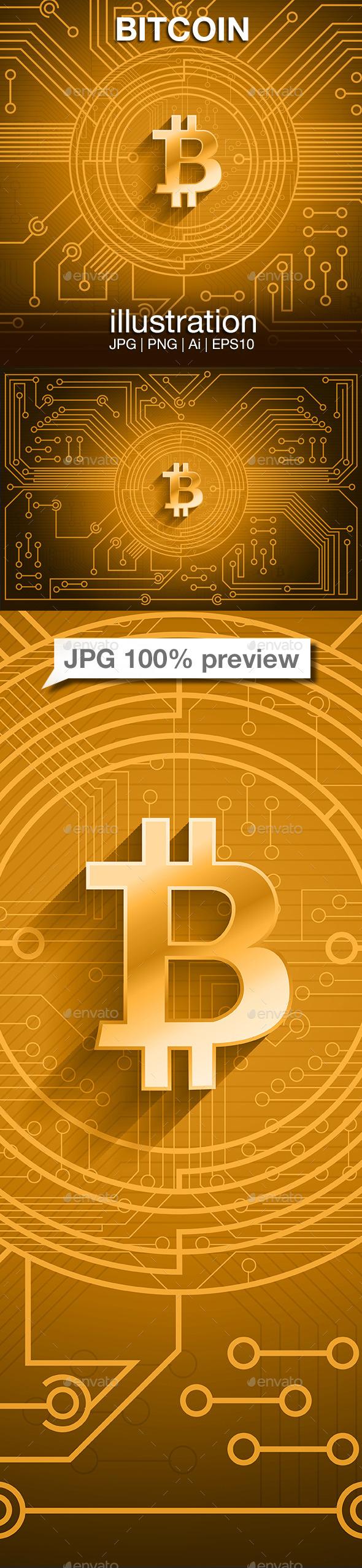 GraphicRiver Bitcoin Circuit 9023494