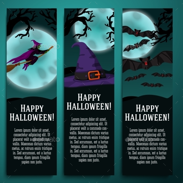 GraphicRiver Halloween Banners 9023546
