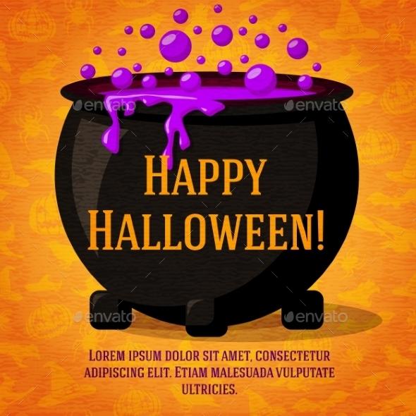 GraphicRiver Halloween Card 9023549