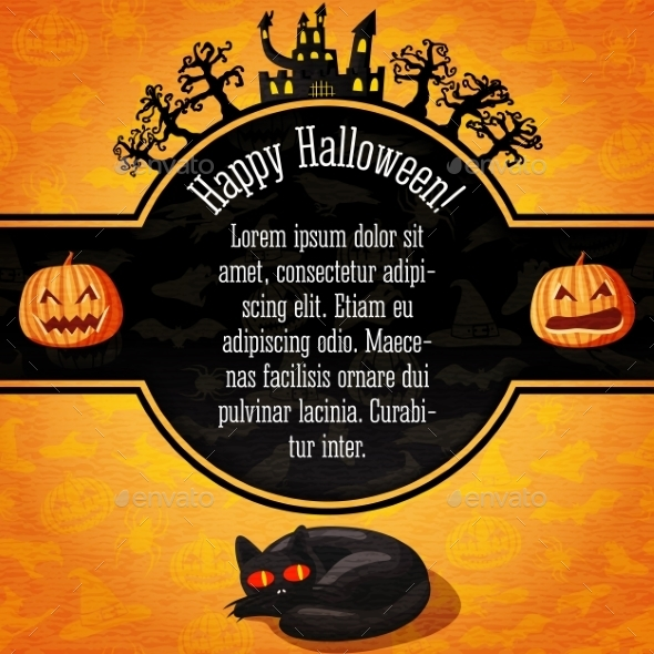 GraphicRiver Happy Halloween Card 9023553