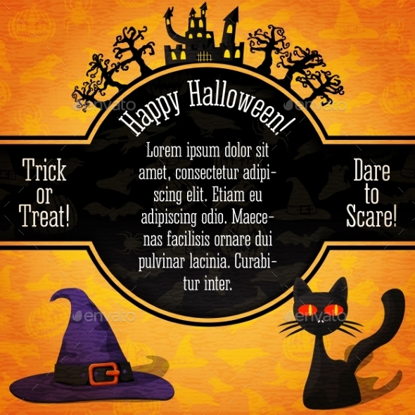 GraphicRiver Happy Halloween Banner 9023556