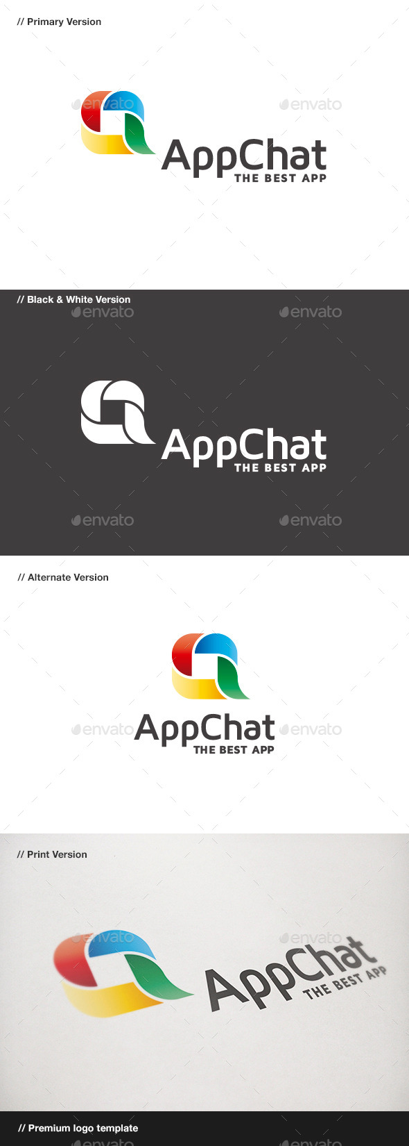 GraphicRiver App Chat 9023985